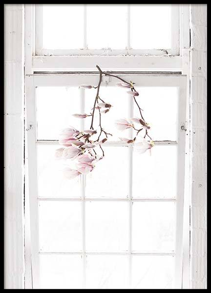 Flowers In The Window Poster no grupo Posters  / Arte fotográfica em Desenio AB (10182)