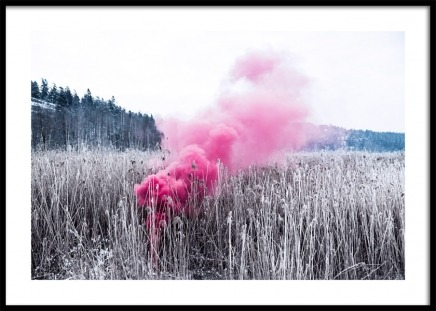 Pink Foggy Cloud Poster no grupo Posters  / Studio Collections / Studio Mystery em Desenio AB (12178)