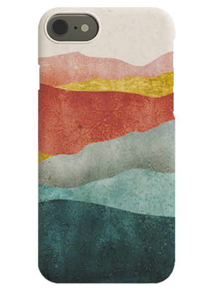 Sunset Waves iPhone Case no grupo Capas iPhone / iPhone 11 em Desenio AB (C-50156)