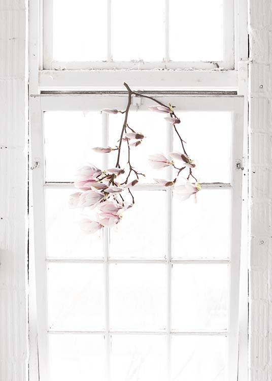 Flowers In The Window Poster / Arte fotográfica em Desenio AB (10182)