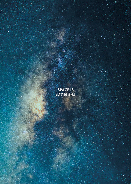 Space is the Place Poster / Natureza em Desenio AB (11169)