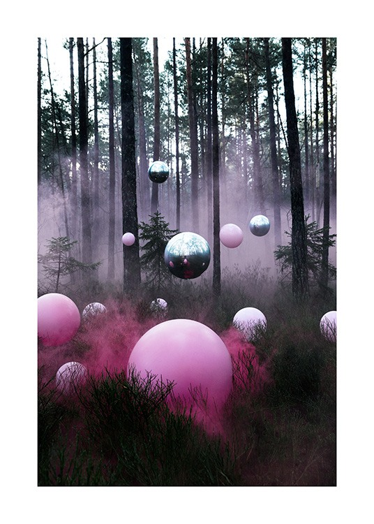 The Mysterious Forest Poster / 70x100 cm em Desenio AB (12174)