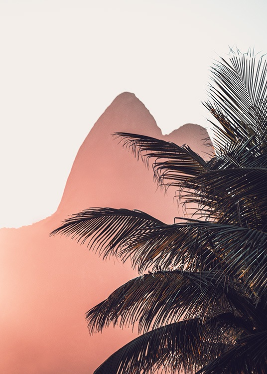 Sunset in Ipanema Poster / Tropical em Desenio AB (12599)